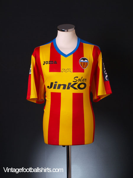 2011-14 Valencia Fourth Shirt XL