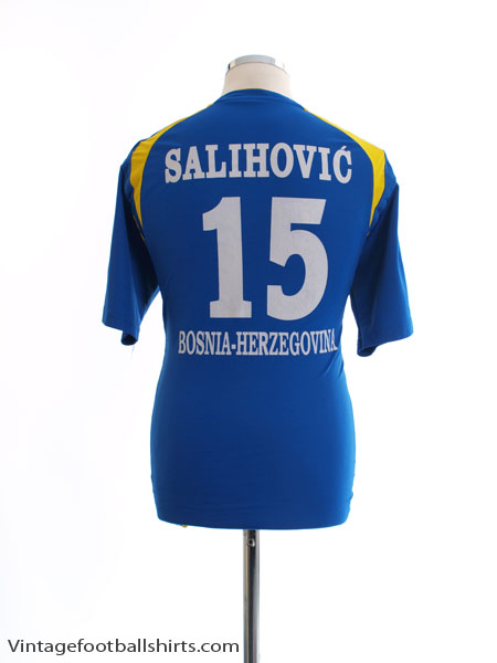 2011 Bosnia & Herzegovina Home Shirt Salihovic #15 L