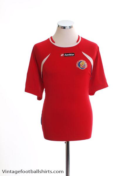 2011 Costa Rica Home Shirt XL