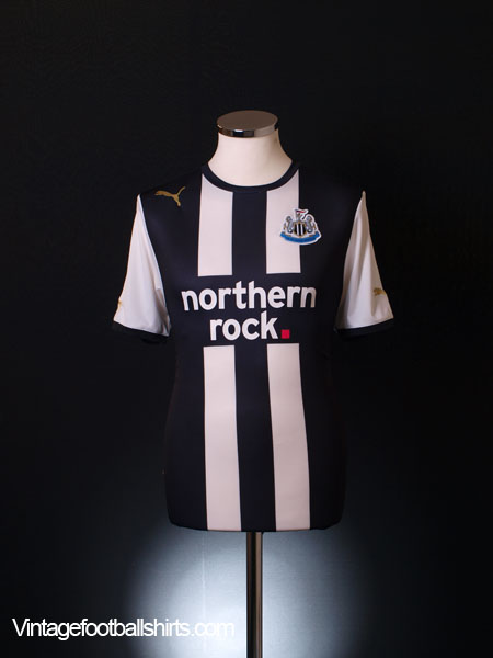 2011 Newcastle Home Shirt S