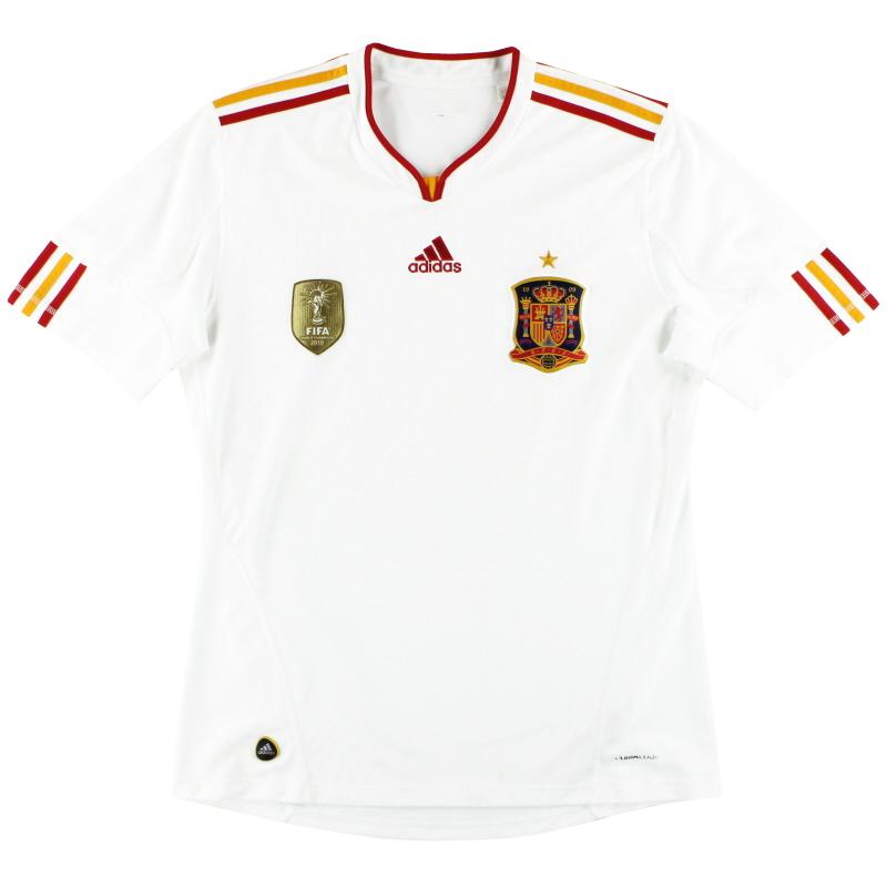 2011 Spain adidas Away Shirt L - V32523