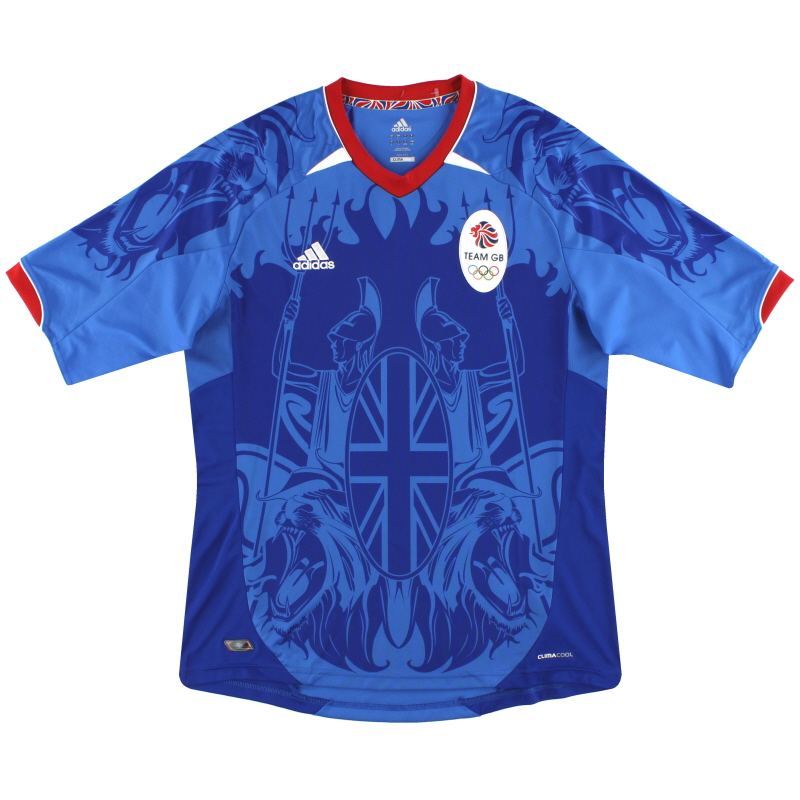 2011 Team GB Olympic adidas Home Shirt *Mint* S