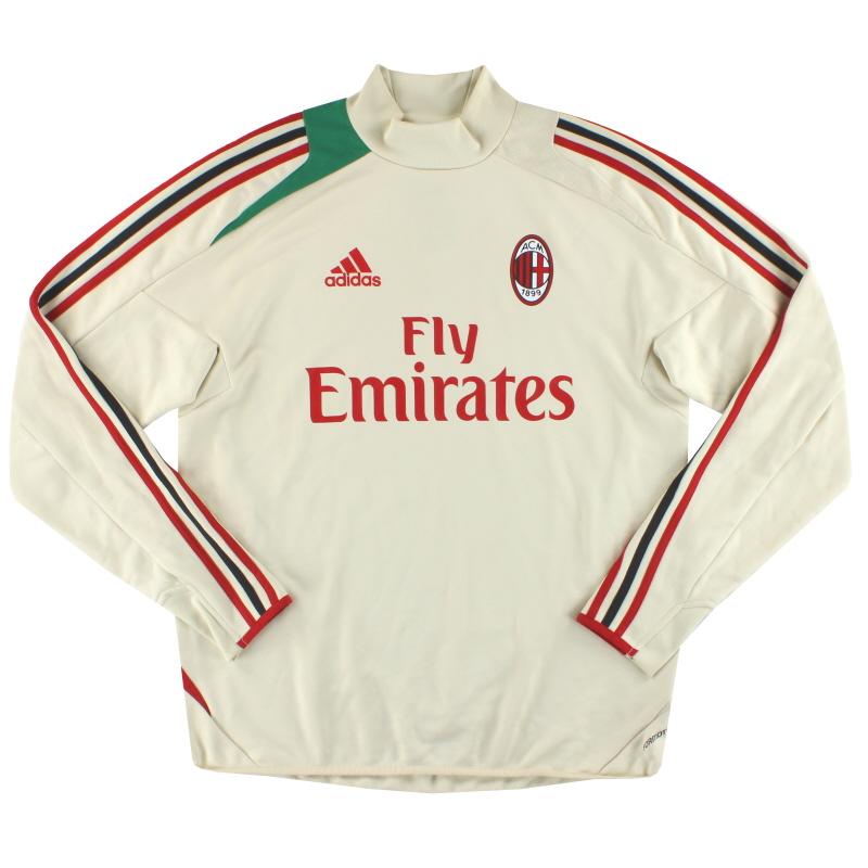 2012-13 AC Milan adidas Formotion F50 Training Top*As New* L - W37394
