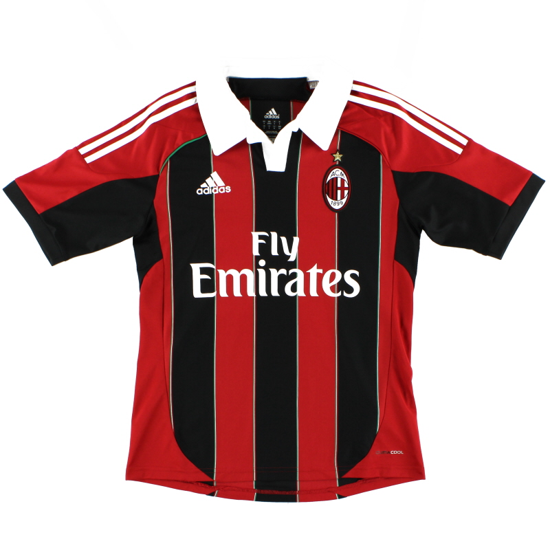 2012-13 AC Milan Home Shirt *Mint* S