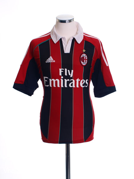 2012-13 AC Milan Home Shirt *Mint* L - X23680