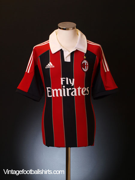 2012-13 AC Milan Home Shirt L