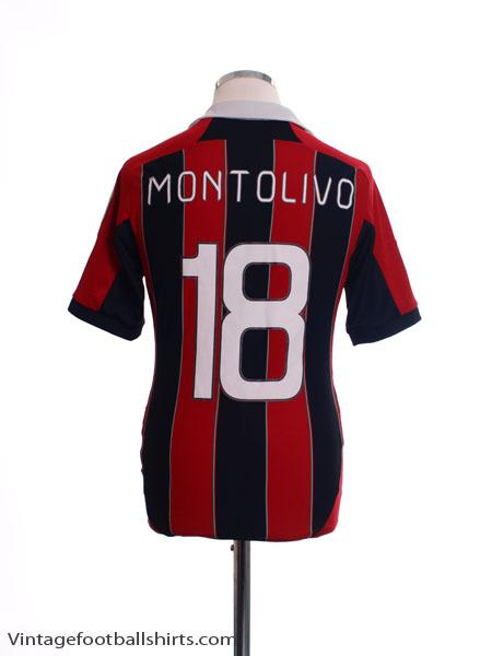2012-13 AC Milan Home Shirt Montolivo #18 S