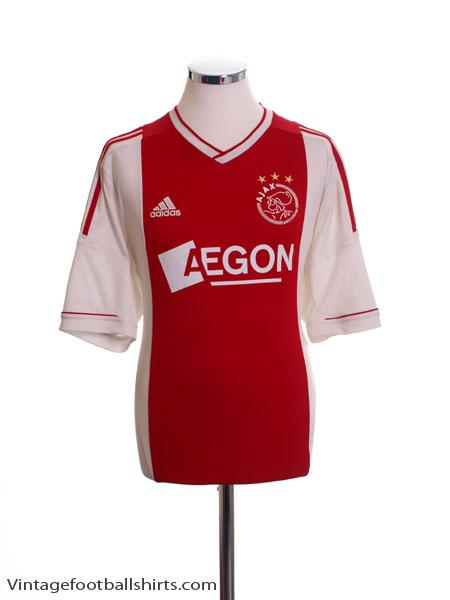 2012-13 Ajax Home Shirt S