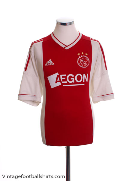 2012-13 Ajax Home Shirt XL - X20903