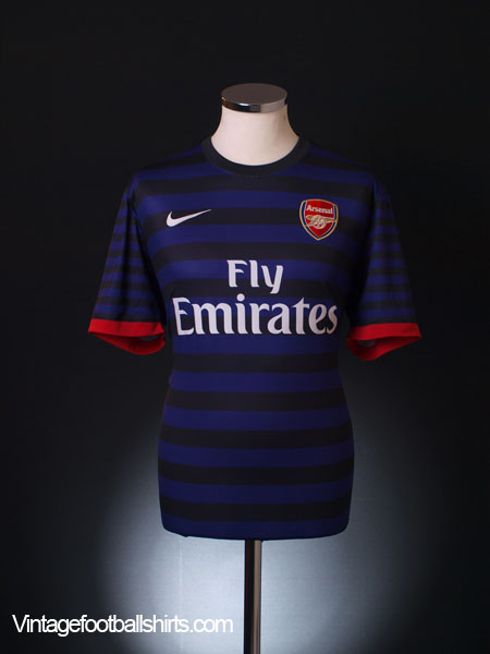 2012-13 Arsenal Away Shirt *Mint* M