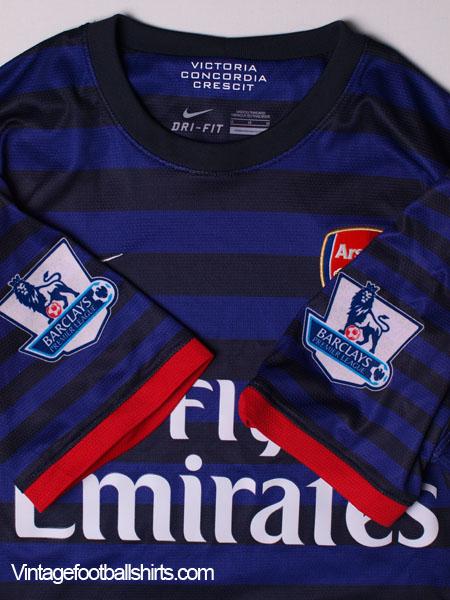 a97044a0d9e 2012-13 Arsenal Away Shirt  Mint  M for sale