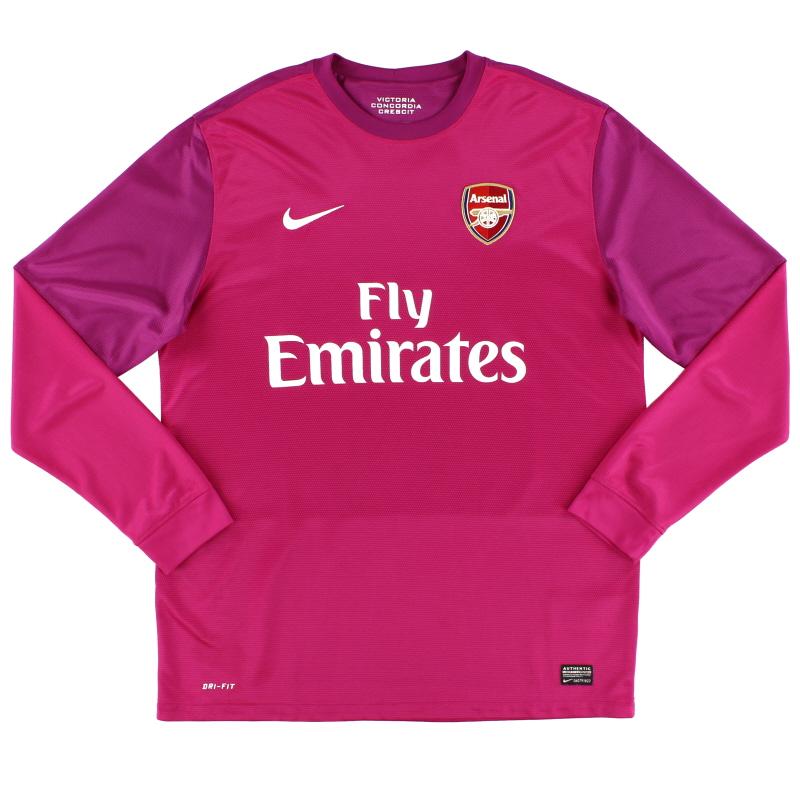 2012-13 Arsenal Goalkeeper Shirt L