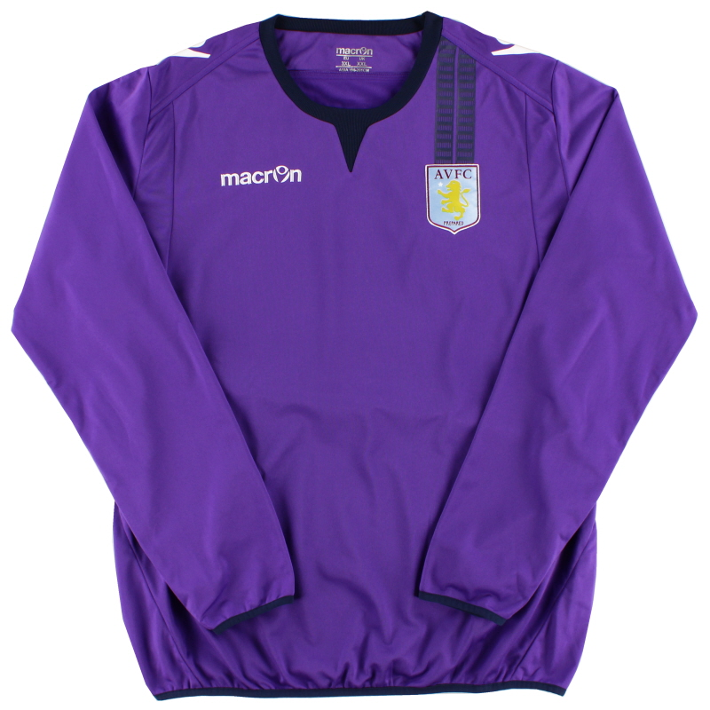 2012-13 Aston Villa Macron Training Jumper XXL