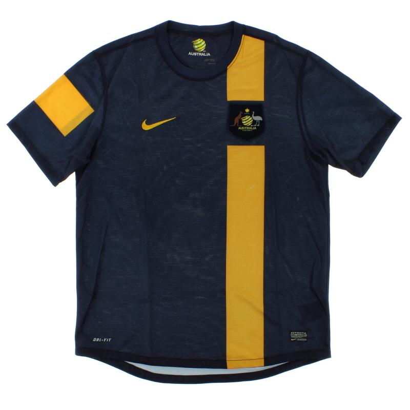 2012-13 Australia Away Shirt L