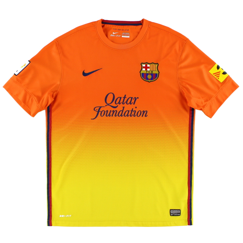 2012-13 Barcelona Away Shirt L