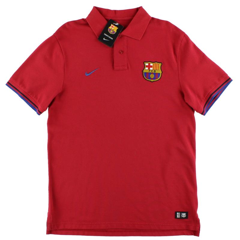 2012-13 Barcelona Nike Polo Shirt *w/tags* L - 419900-618