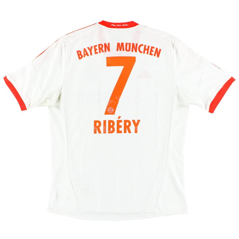 2012-13 Bayern Munich Away Shirt Ribery #7 L