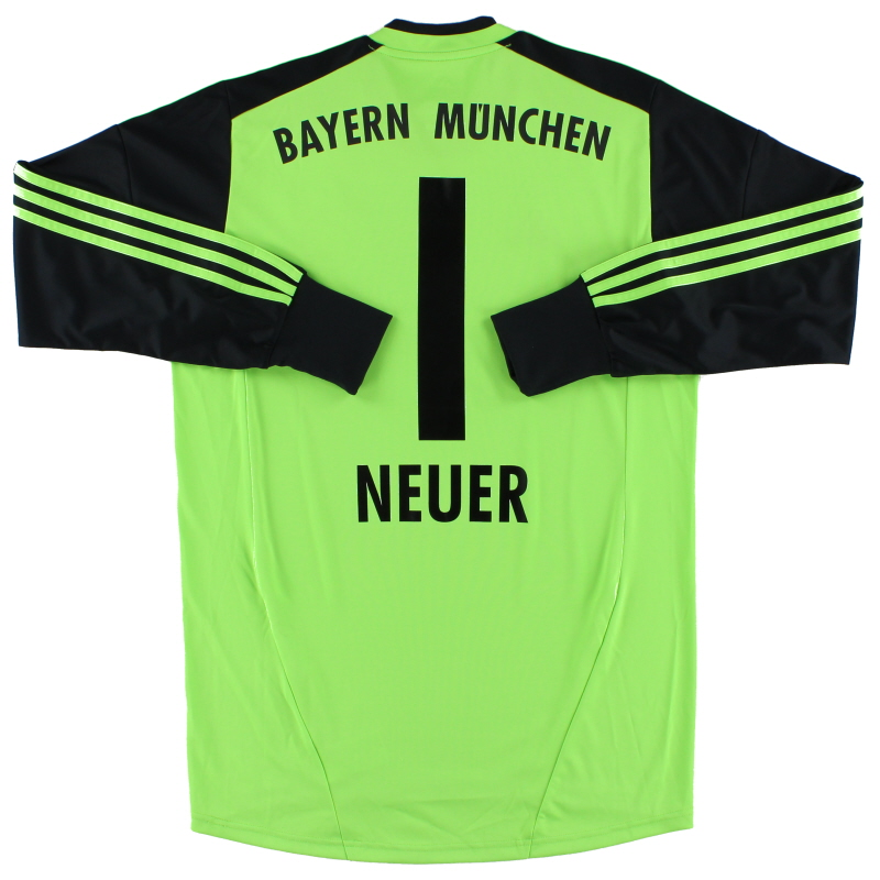2012-13 Bayern Munich Goalkeeper Shirt Neuer #1 *Mint* M - W37528
