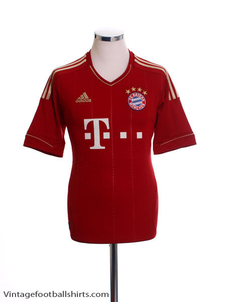 2012-13 Bayern Munich Home Shirt Y