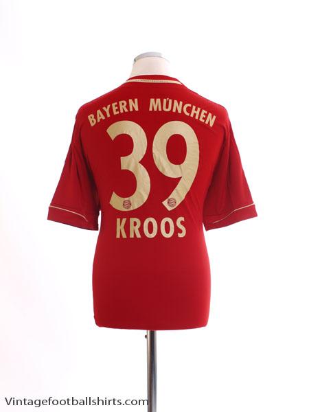 2012-13 Bayern Munich Home Shirt Kroos #39 L