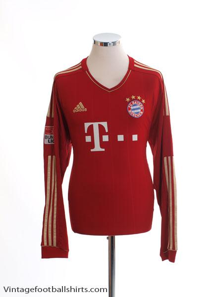 sale retailer 49aa2 d9bf7 2012-13 Bayern Munich Home Shirt Martinez #8 L/S L for sale