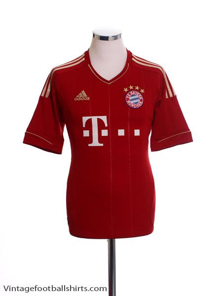 2012-13 Bayern Munich Home Shirt M - V13554