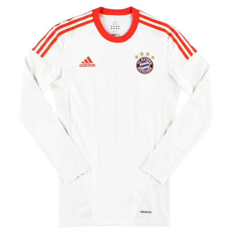 2012-13 Bayern Munich TechFit Away Shirt L/S L - X47750