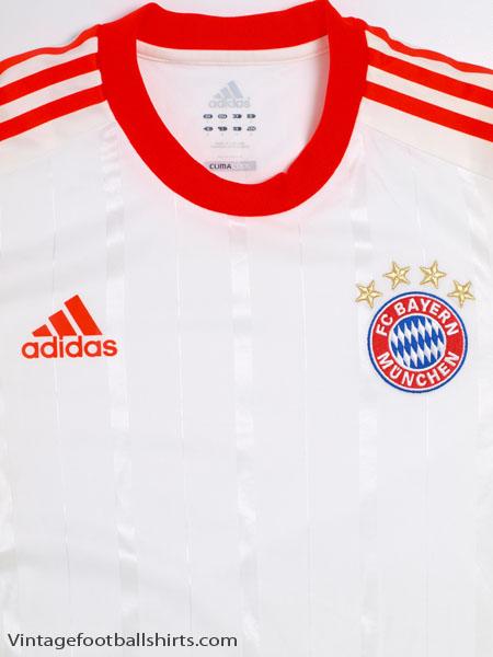 new styles 318ec d9aaa 2012-13 Bayern Munich TechFit Away Shirt L/S L for sale