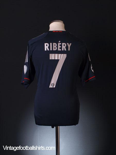 2012-13 Bayern Munich Champions League Third Shirt Ribery #7 M
