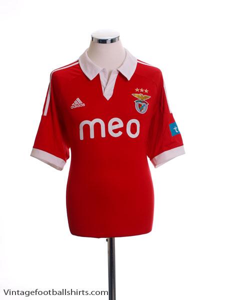 2012-13 Benfica Home Shirt *Mint* M