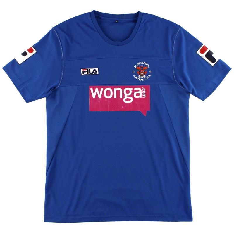 2012-13 Blackpool Training Shirt XL