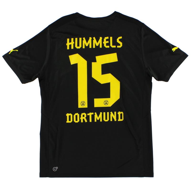 2012-13 Borussia Dortmund Away Shirt Hummels #15 L
