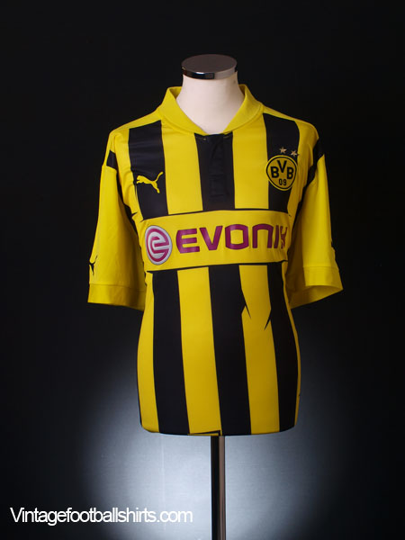 2012-13 Borussia Dortmund Champions League Shirt 4XL
