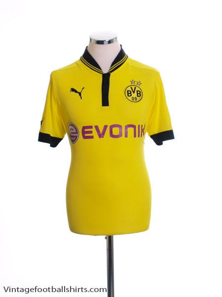 2012-13 Borussia Dortmund Home Shirt L