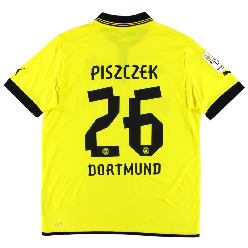2012-13 Borussia Dortmund Home Shirt Piszczek #26 XL