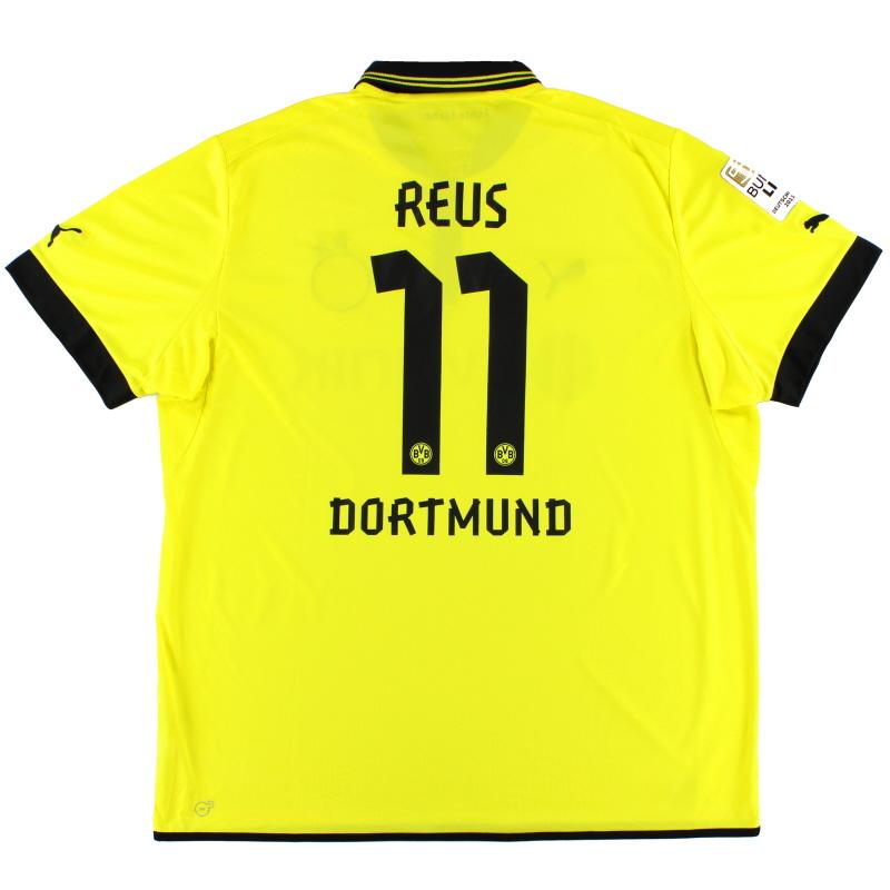 2012-13 Borussia Dortmund Home Shirt Reus #11 4XL - 741411