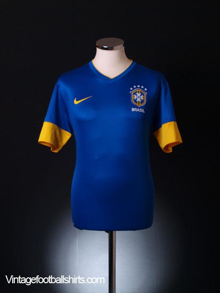 2012-13 Brazil Away Shirt M