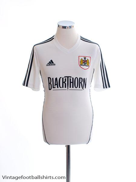 2012-13 Bristol City Away Shirt S