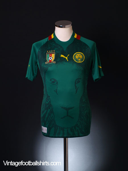 2012-13 Cameroon Home Shirt S