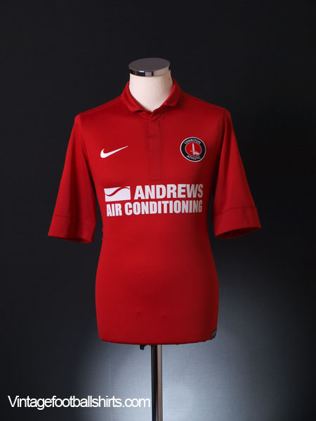 2012-13 Charlton Home Shirt S