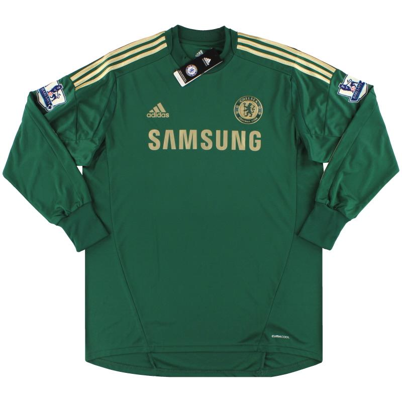 2012-13 Chelsea adidas Goalkeeper Shirt Cech #1 *w/tags* XL - W38488