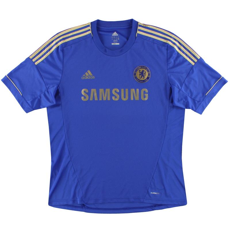 2012-13 Chelsea adidas Home Shirt M - X23745