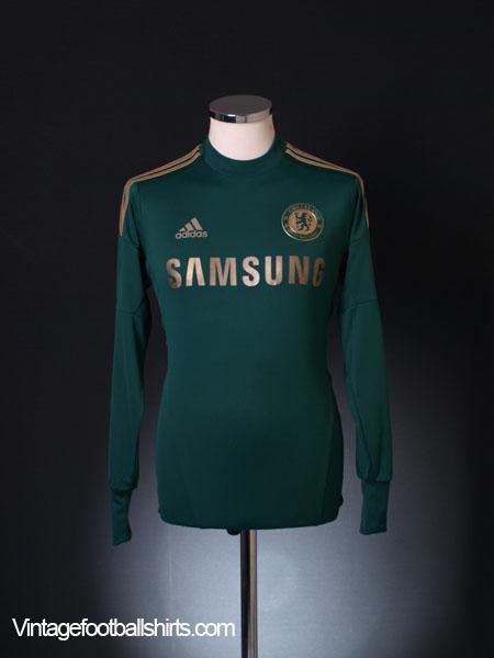 2012-13 Chelsea Goalkeeper Shirt L/S S