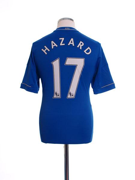 2012-13 Chelsea Home Shirt Hazard #17 S