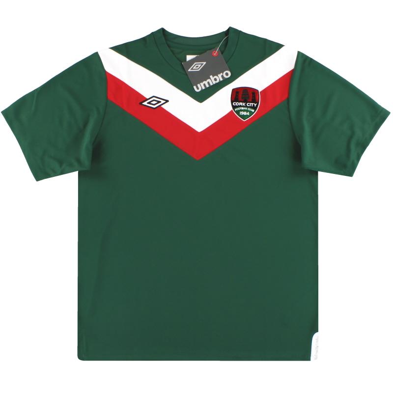 2012-13 Cork City Umbro Home Shirt *BNIB* M - U94450
