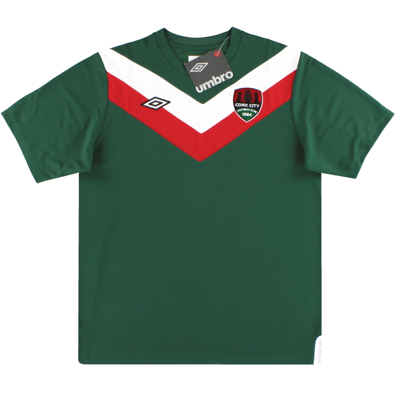 2012-13 Cork City Umbro Home Shirt *BNIB* S - U94450