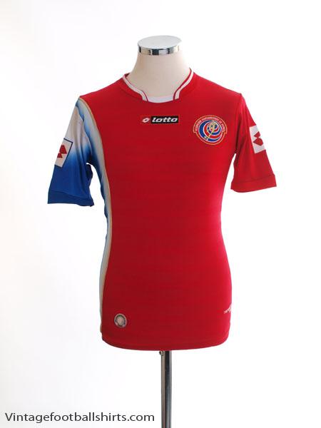 2012-13 Costa Rica Home Shirt S