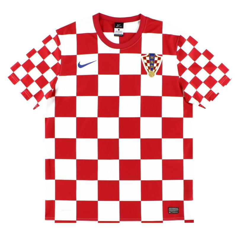 2012-13 Croatia Nike Basic Home Shirt XL.Boys - 450584-614