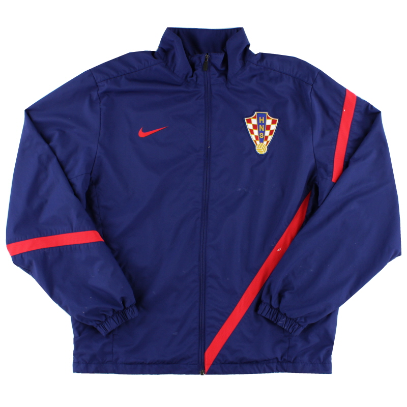 2012-13 Croatia Nike Sideline Warm Up Jacket L - 450505-422