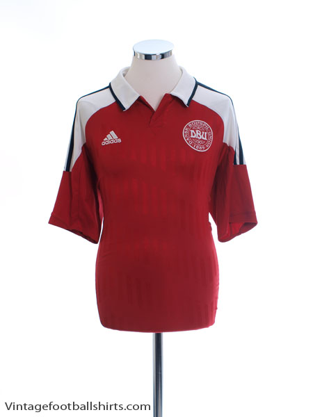 2012-13 Denmark Home Shirt L - X11598